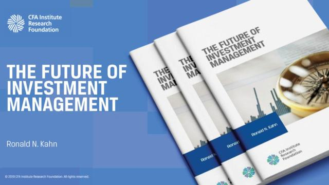 Ad for The Future of Investment Management