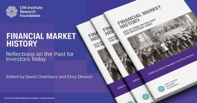 Book jackets of Financial Market History: Reflections on the Past for Investors Today