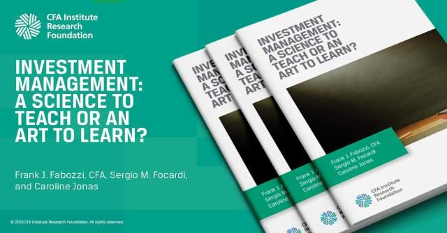 Slide of Investment Management: A Science to Teach or an Art to Learn?