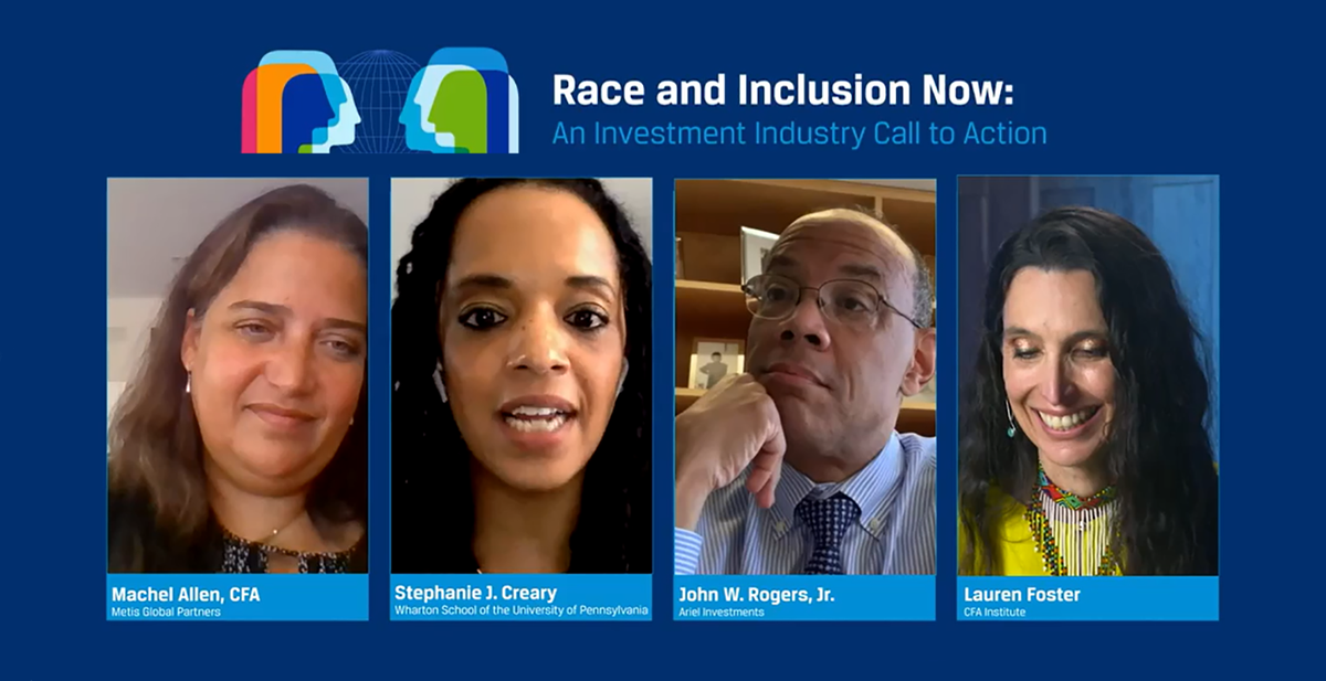 Race and Inclusion Now: Action Points for Investment Management