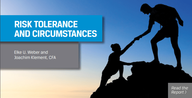 Cover image of Risk Tolerance and Circumstances book