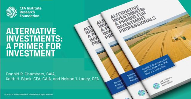 Ad for Alternative Investments: A Primer for Investment