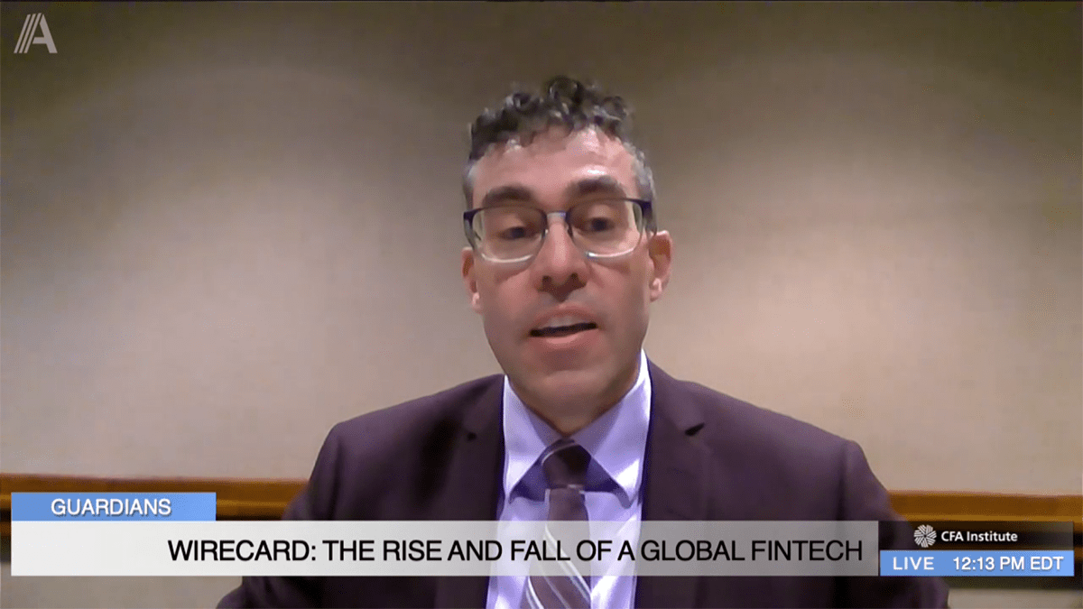 James H. Freis, Jr., CFA: The Rise and Fall of Wirecard