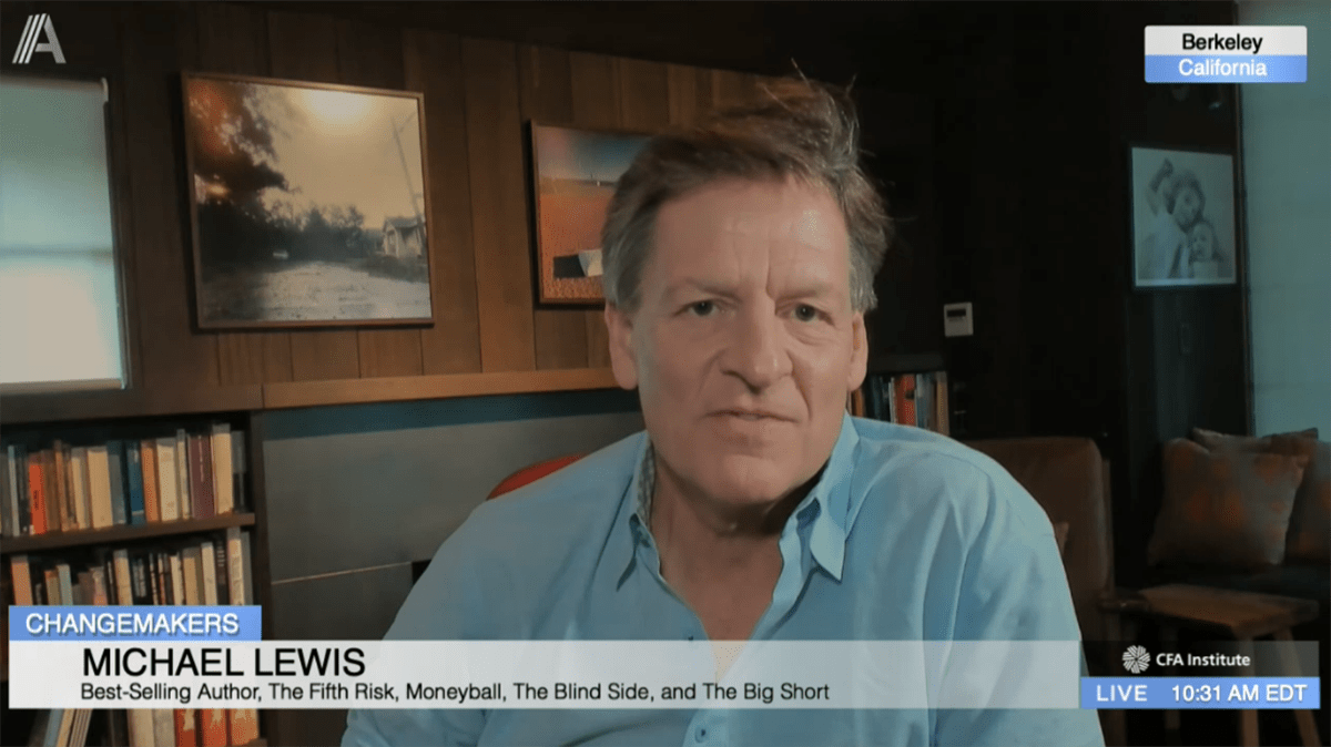 Michael Lewis on the US Pandemic Response: Misaligned Incentives